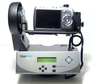 Canon SZ110 IS on gigaPan Epic 100