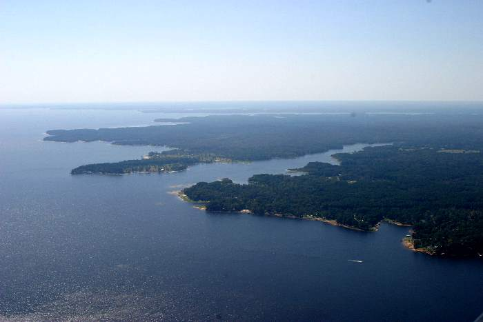 Toledo bend gallery aerial photos of toledo bend lake area - Lowes in toledo ...